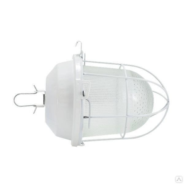 Светильник НСП 02-100-003 с решеткой - изображение