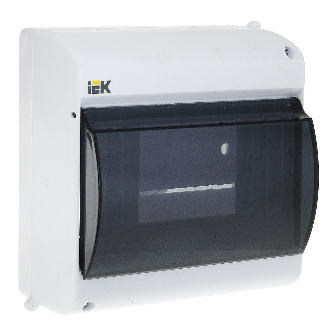 Бокс ОП КМПн 2/4 для 4 авт. выкл. прозр. крышка IP30 - изображение