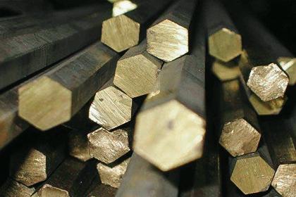 Шестигранник бронзовый БрАМц9-2ПТ 12х3000 ГОСТ 1628-78 - изображение