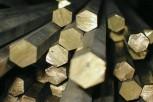 Шестигранник бронзовый БрАМц9-2ПТ 10х3000 ГОСТ 1628-78 - изображение