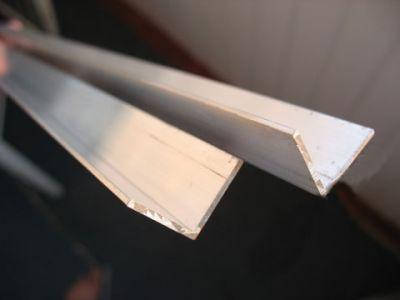 Уголок алюминиевый АД31Т1 50х50х2х2х6000 - изображение
